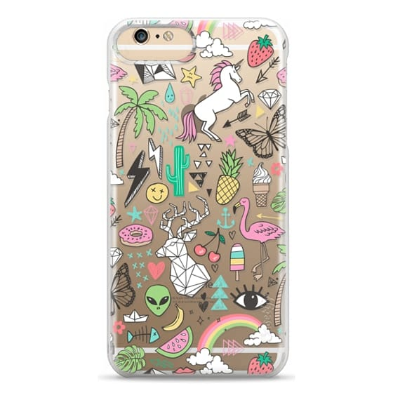 iPhone 6 Plus Cases - Summer Time Doodle