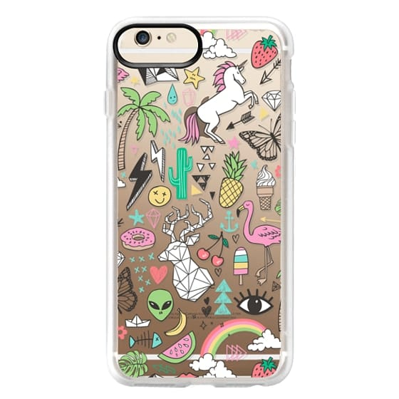 iPhone 6s Plus Cases - Summer Time Doodle
