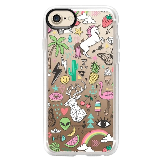 iPhone 7 Cases - Summer Time Doodle