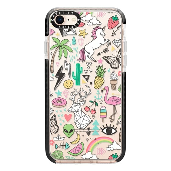 iPhone 8 Cases - Summer Time Doodle
