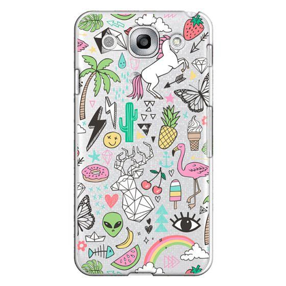 Optimus G Pro Cases - Summer Time Doodle