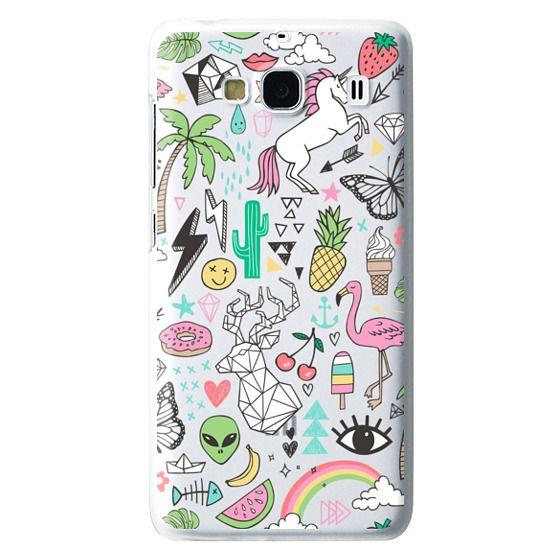 Redmi 2 Cases - Summer Time Doodle