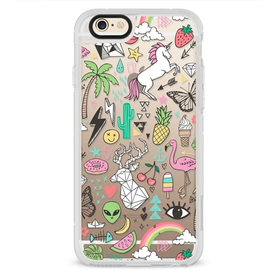 iPhone 6s Cases - Summer Time Doodle