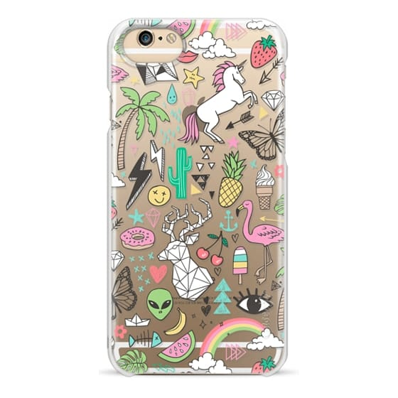 iPhone 6 Cases - Summer Time Doodle