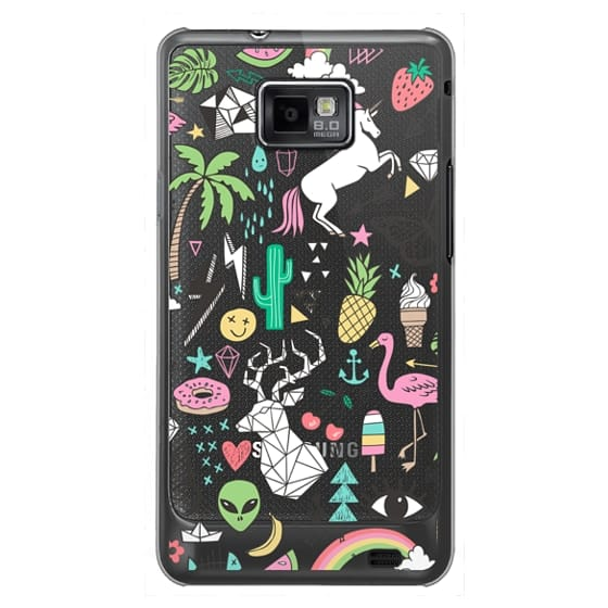 Samsung Galaxy S2 Cases - Summer Time Doodle