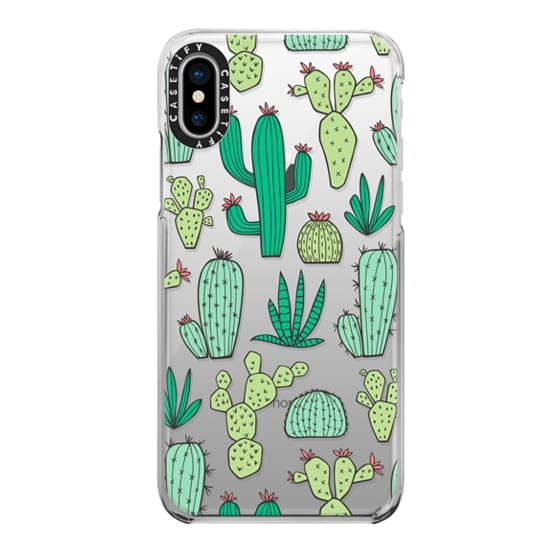 iPhone X Cases - Cactus
