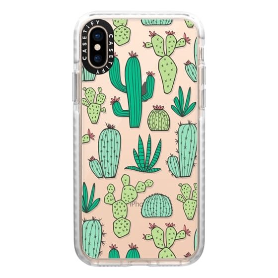 brand new 491ed c300d Impact iPhone XS Case - Cactus