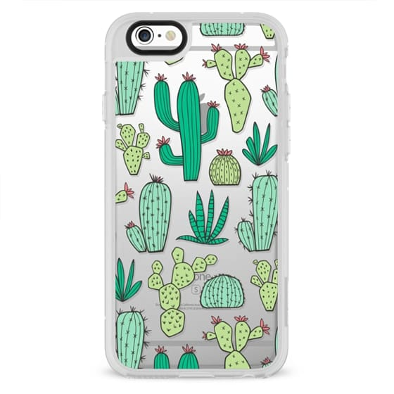 iPhone 4 Cases - Cactus