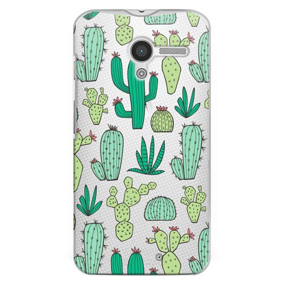 Moto X Cases - Cactus