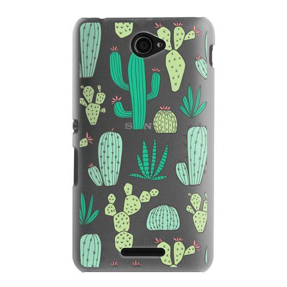 Sony E4 Cases - Cactus