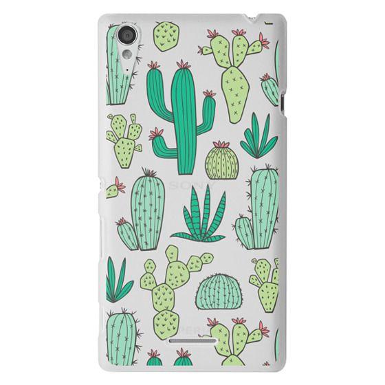 Sony T3 Cases - Cactus