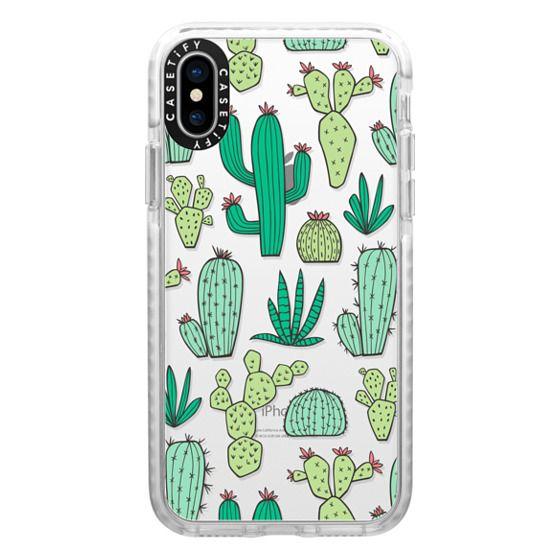 iPhone X Cases - Cactus