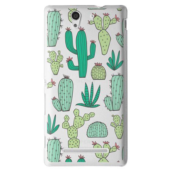 Sony C3 Cases - Cactus
