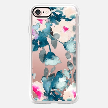 iPhone 7 Case Rose Floral by Chroma