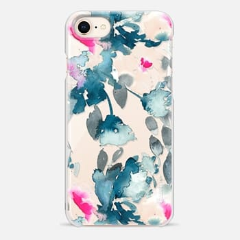 iPhone 8 ケース Rose Floral by Chroma