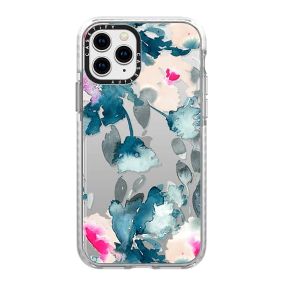 iPhone 11 Pro Cases - Rose Floral by Chroma