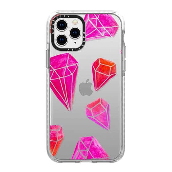 iPhone 11 Pro Cases - Diamonds by Lisa Nagel