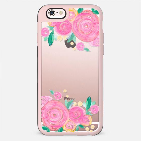 Pink Rose Blooms No. 1 - New Standard Case