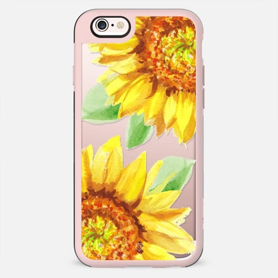 Watercolor Rustic Sunflowers - New Standard Case