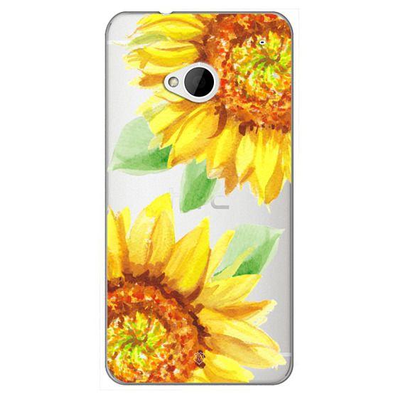 Watercolor Rustic Sunflowers