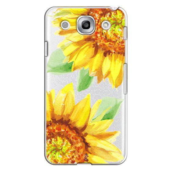 Optimus G Pro Cases - Watercolor Rustic Sunflowers