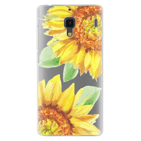 Redmi 1s Cases - Watercolor Rustic Sunflowers