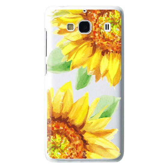 Redmi 2 Cases - Watercolor Rustic Sunflowers