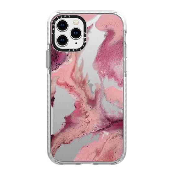 iPhone 11 Pro Cases - Quartz Moon by Laura Stewart