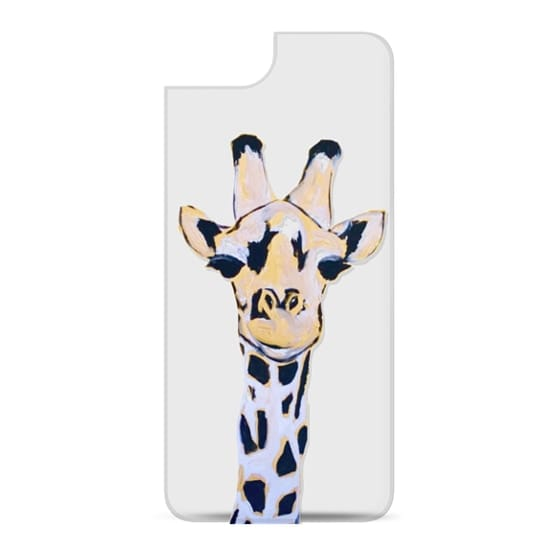 Sassy Giraffe Head (Clear Case)