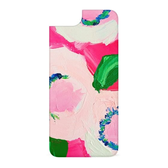 iPhone 6s Cases - Pink Roses Preppy Abstract Art