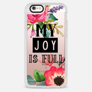 iPhone 6s Case My Joy Is Full Black
