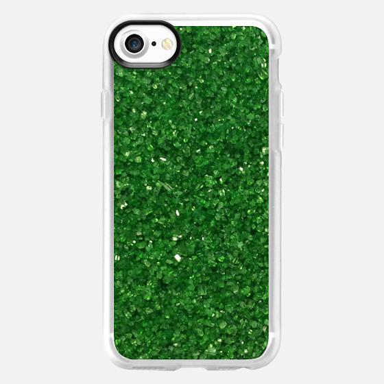 Green Crystals -