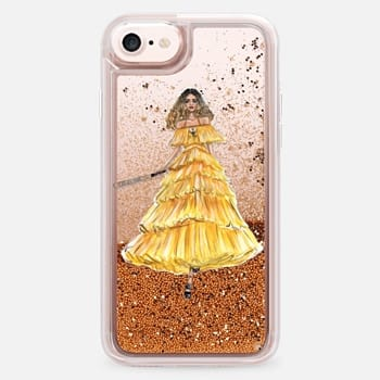 iPhone 7 Case YELLOW DRESS