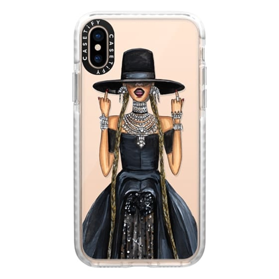 iPhone XS Cases - Middle Fingers Up