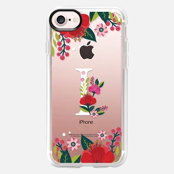 Tropical Monogram I - Classic Grip Case