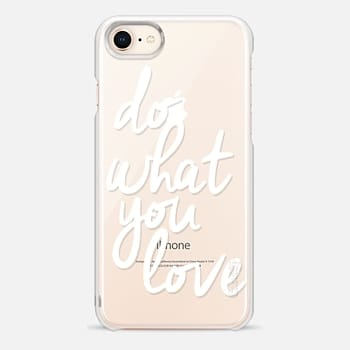 iPhone 8 ケース Do What You Love