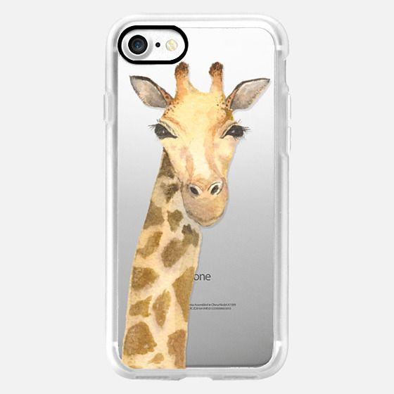 Giraffe Watercolor -