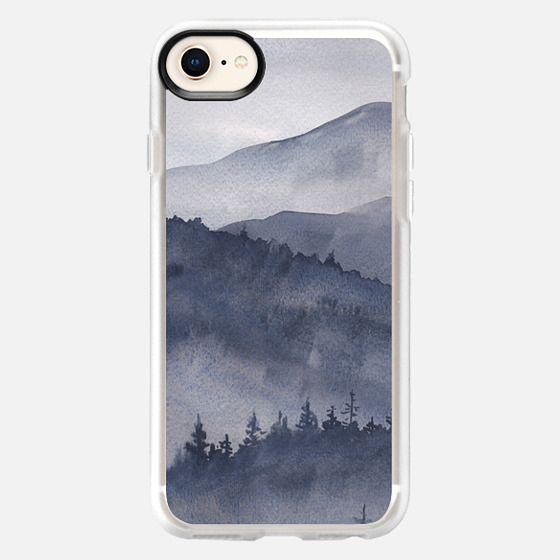 Watercolor Smoky Mountains - Snap Case