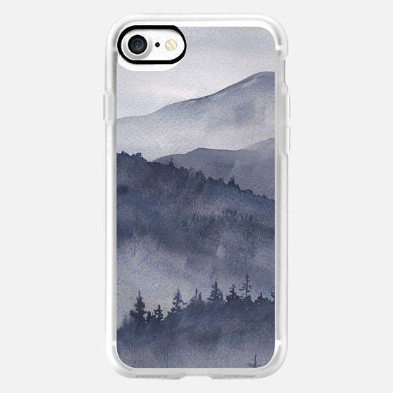 Watercolor Smoky Mountains -