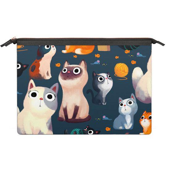 MacBook 12 Sleeves - meow case