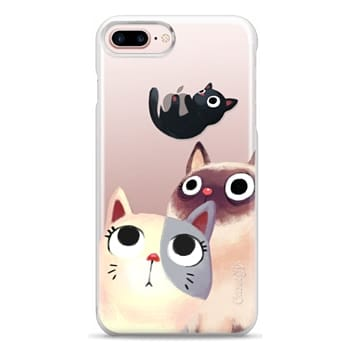 Snap iPhone 7 Plus Case - the flying kitten
