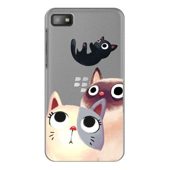 Blackberry Z10 Cases - the flying kitten