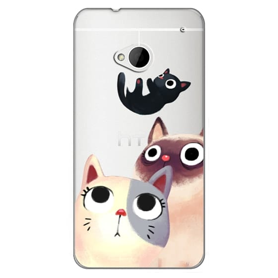 Htc One Cases - the flying kitten