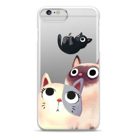iPhone 6 Plus Cases - the flying kitten
