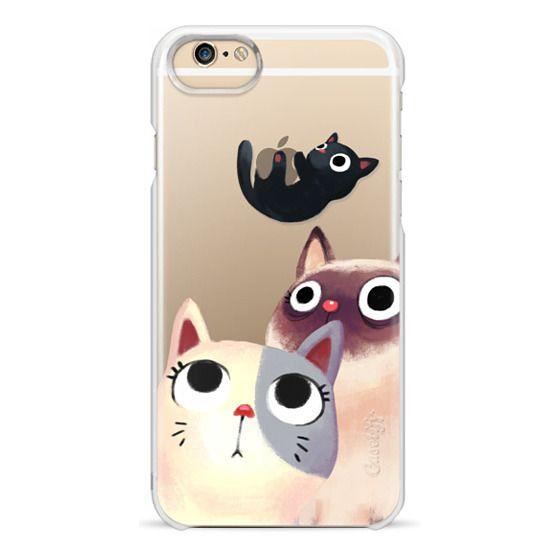 iPhone 6 Cases - the flying kitten