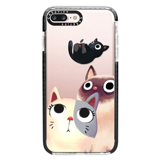 iPhone 7 Plus Cases - the flying kitten
