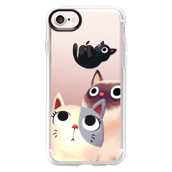 iPhone 7 Cases - the flying kitten