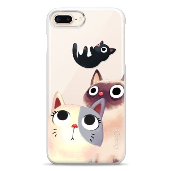 iPhone 8 Plus Cases - the flying kitten