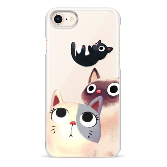 iPhone 8 Cases - the flying kitten