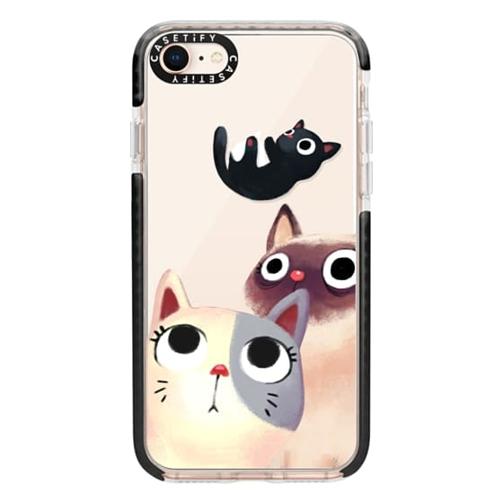 iPhone 8 Cases - the flying kitten